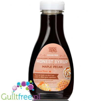 Choc Zero Honest Syrup, sugar free syrup Maple Pecan