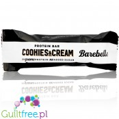 Barebells Cookies & Cream no added sugar protein bar