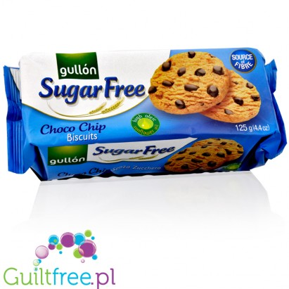 Gullón Chocolate Chip sugar free cookies