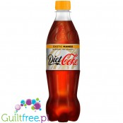 Coke Diet Exotic Mango 0,5L, PET bottle