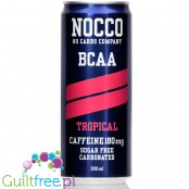 NOCCO BCAA Tropical sugar free drink with caffeine and BCAA