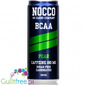 NOCCO BCAA Pear - sugar free energy drink with caffeine, l-carnitine and BCAA