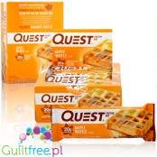 Quest Bar Maple Waffle box of 12 bars