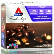 Atkins Treat Endulge Chocolate Covered Almonds BOX