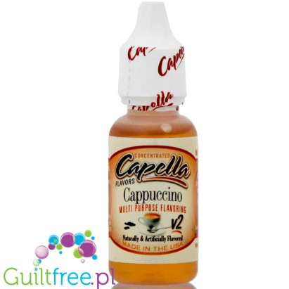 Capella Flavors Cappuccino Flavor - Concentrated food aroma without sugar and without fat: espresso