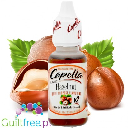 Capella Hazelnut concentrated flavor