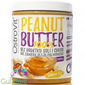 OstroVit NutVit smooth peanut butter 100% nuts 1kg