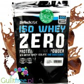 BioTech USA Iso Whey Zero Chocolate & Toffee 0,5kg