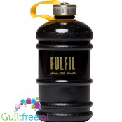 Fulfil Unisex Water Bottle Hydrator, Black, 2,2L