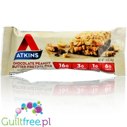 Atkins Meal Chocolate Peanut Butter Pretzel