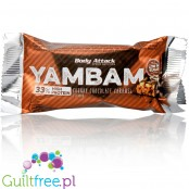 Body Attack Yam Bam Chunky Chocolate protein bar 40g