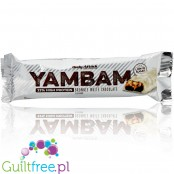Body Attack Yam Bam Brownie White Chocolate protein bar