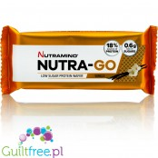 Nutramino Nutra-Go protein wafer with creamy vanilla filling
