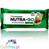 Nutramino Nutra-Go protein wafer with creamy hazelnut filling
