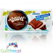 Wawel no added sugar plain milk chocolate