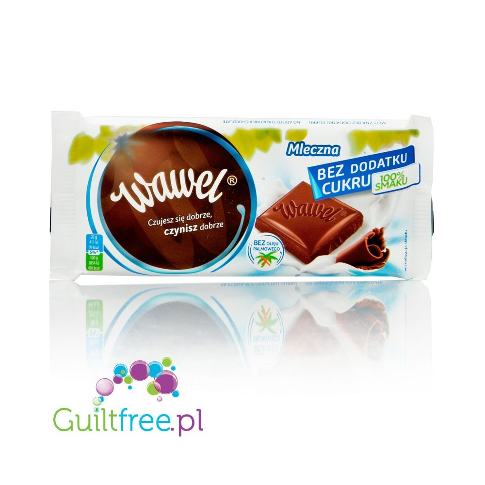 Wawel No Added Sugar Plain Milk Chocolate Guiltfreepl