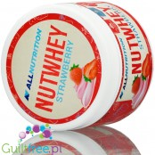 AllNutrition Nutwhey Strawberry spread with WPC and shea butter, just 1g sugar