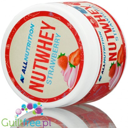 AllNutrition Nutwhey Strawberry just 1g sugar