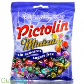 Pictolin Minizum sugar free & gluten free fruit hard candies