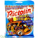 Pictolin honey & lemon sugar free & gluten free candies, 100g