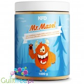 KFD Mr Maseł - sugar free almond cream with shea butter, White Chocolate & Cinnamon flavor