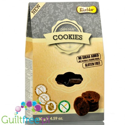 BiaMar Pieguski sugar free, gluten free cookies with chocolate pieces
