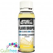 Applied Nutrition Flavo Drops Banana sugar free, fat free liquid flavor