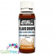Applied Nutrition Flavo Drops Toffee & Caramel sugar free, fat free liquid flavor