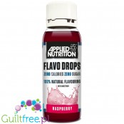 Applied Nutrition Flavo Drops Raspberry sugar free, fat free liquid flavor