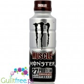 Monster Muscle Energy Shake Chocolate - Chocolate-flavored milk-based energy drink, dietary supplement
