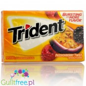 Trident Passionberry Twist sugar free chewing gum
