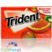 Trident Tropical Twist sugar free chewing gum