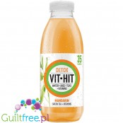 VIT HIT Detox Mandarin & Orange vitamin water with green tex extract, 35kcal per bottle