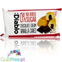 Diablo sugar free vanilla sponge cakes with chocolate filling, PACK OF 3
