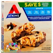 Atkins Snack Dark Chocolate Almond Coconut Bar