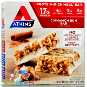 Atkins Meal Cinnamon Bun Bar