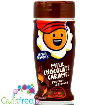 Kernel Seasonal Milk Chocolate Caramel Seasoning with pure cane sugar