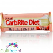 Doctor's CarbRite Diet Birthday Cake totally sugar free protein bar
