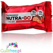 Nutramino Nutra-Go Cake Bar Strawberry Cheesecake protein bar