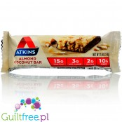 Atkins Meal Almond & Coconut protein bar without maltitol