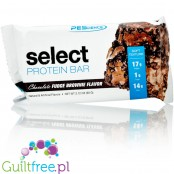 Select Protein Bar Chocolate Fudge Brownie bezglutenowy baton białkowy