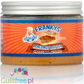 Franky's Bakery Wheynut Butter Chocolate & Caramel - chocolate-enriched peanut butter with chocolate-cherry flavor