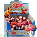 Chupa Chups Sugar Free Assorted Flavour Lollipops Display 50pcs