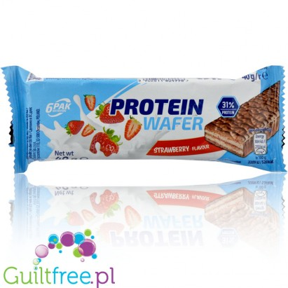 6Pak Nutrition Protein wafer strawberry