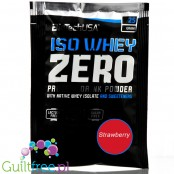 BioTech USA Iso Whey Zero Strawberry, sachet 25g