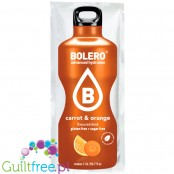 Bolero Drink Stevia Orange & Carrot, instant, sachet 9g