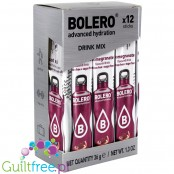 Bolero Sticks Stevia Pomegranate, instant drink, 12 sachets