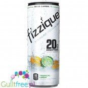 Fizzique, Sparkling Water, Tropical Limon