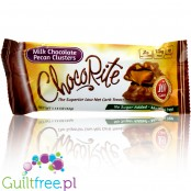 Healthsmart ChocoRite Bars, Milk Chocolate Pecan Cluster