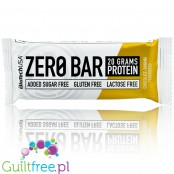 Biotech Zero Bar Chocolate Banana protein bar free from lactose